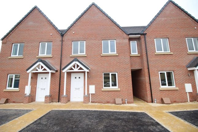 3 bed terraced house for sale in Davy Close, Ollerton, Newark