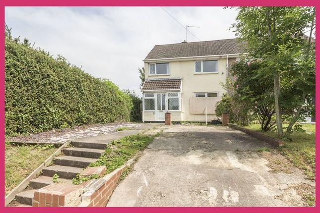 Thumbnail Semi-detached house for sale in Humber Road, Bettws, Newport