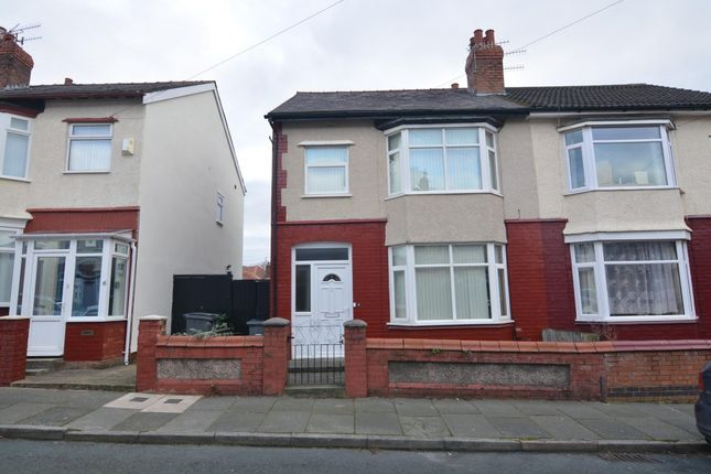 Thumbnail Terraced house to rent in College Drive, Rock Ferry, Birkenhead
