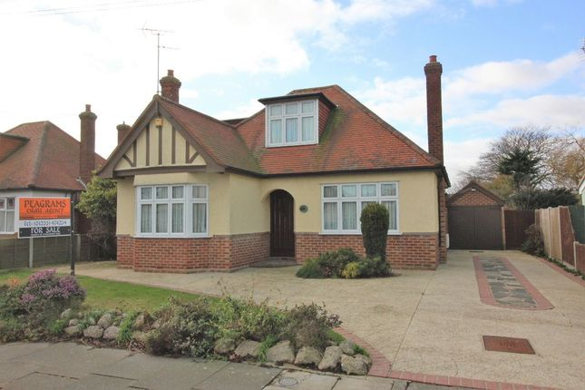 Thumbnail Detached bungalow for sale in Queensway, Holland On Sea, Clacton On Sea