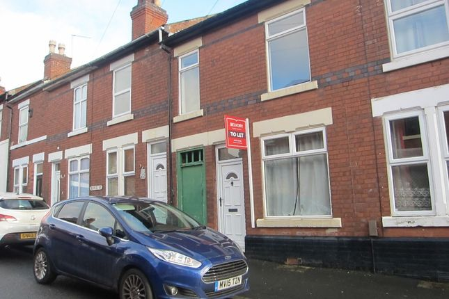 Thumbnail Terraced house to rent in Howe Street, Derby
