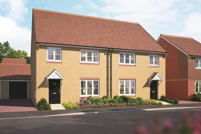 Thumbnail Semi-detached house for sale in Great Western Park, Didcot