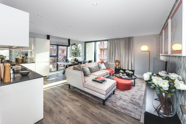 Thumbnail Flat for sale in Charter Square, High Street, Staines Upon Thames