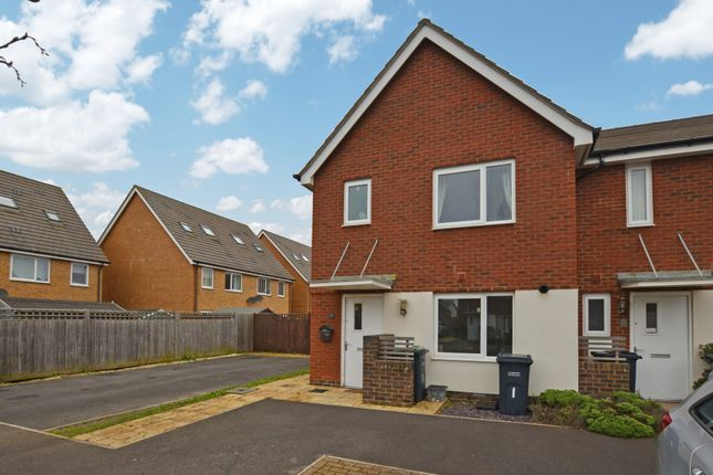 Thumbnail End terrace house to rent in Lizard Close, Gosport, Hampshire