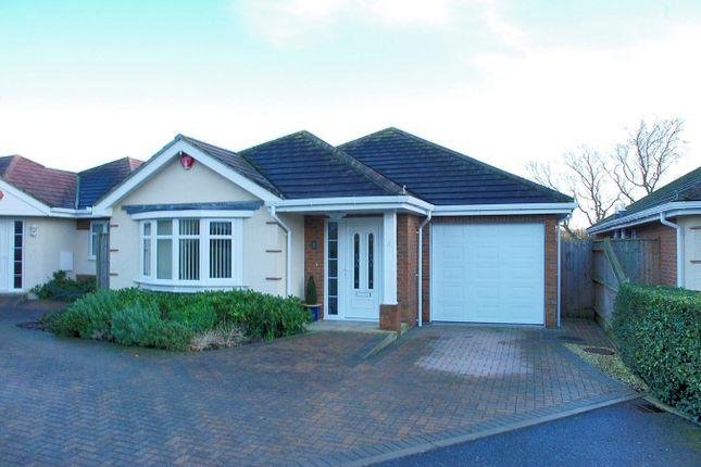 Thumbnail Detached bungalow for sale in Heathlands, Hordle, Lymington