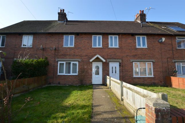 Thumbnail Terraced house to rent in De Burgh Road, Colchester