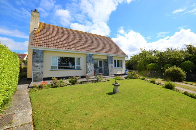 Thumbnail Bungalow for sale in Martyns Close, Goonhavern, Truro, Cornwall