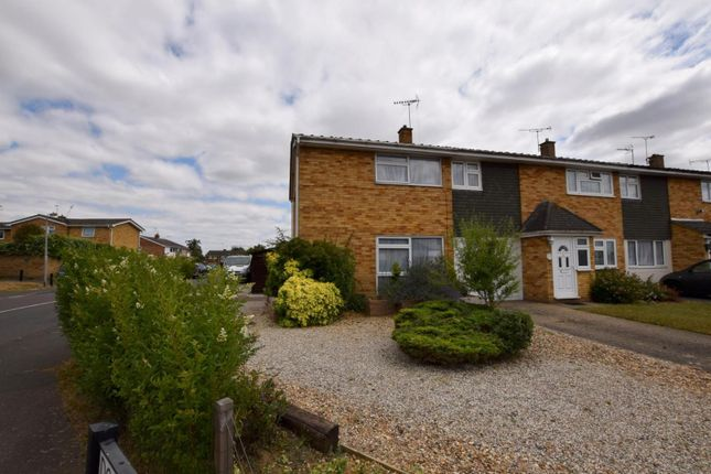 Thumbnail End terrace house for sale in Dorothy Sayers Drive, Witham