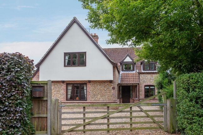 Thumbnail Detached house for sale in Butt Lane, Litcham, King's Lynn