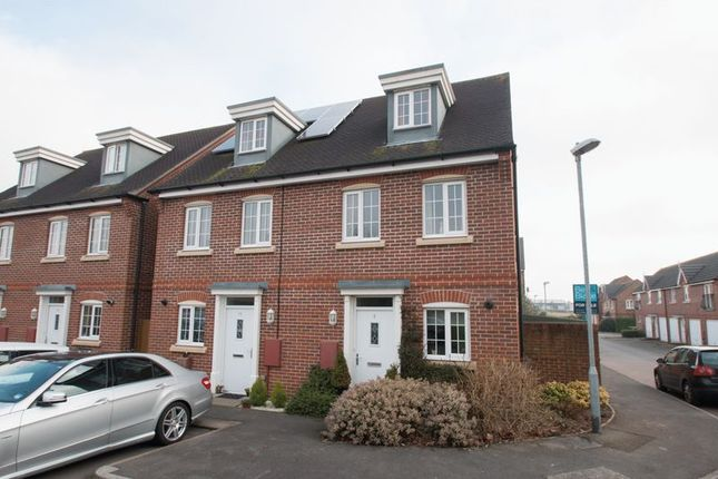 Thumbnail Town house for sale in Neville Duke Way, Tangmere, Chichester