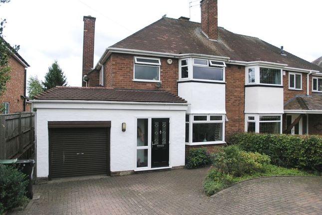 Thumbnail Semi-detached house for sale in Manor Abbey Road, Halesowen