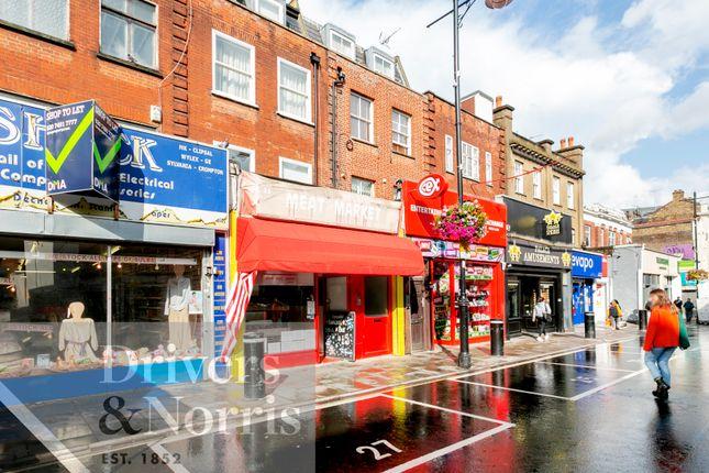 Retail premises to let in Chapel Market, London