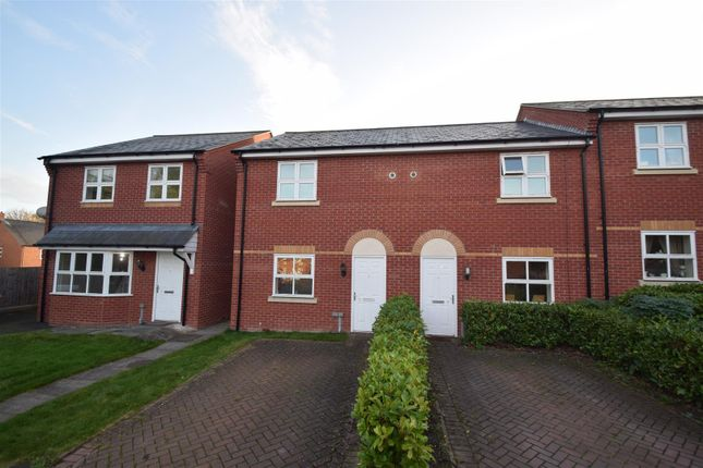 Thumbnail End terrace house for sale in Osborne Close, Shrewsbury