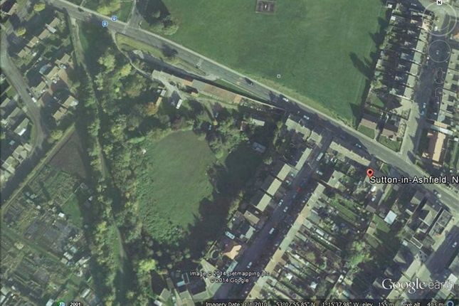 Thumbnail Land for sale in Residential Building Land Number 1, 57, Stoneyford Road, Sutton In Ashfield, Notts