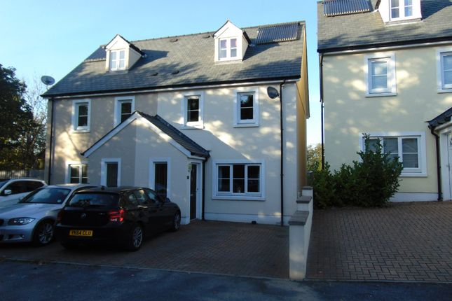 Thumbnail Semi-detached house for sale in Parc Y Gelli, Foelgastell, Llanelli