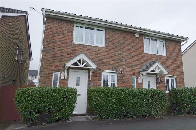 Thumbnail Semi-detached house for sale in Clos Celyn, Barry, Vale Of Glamorgan