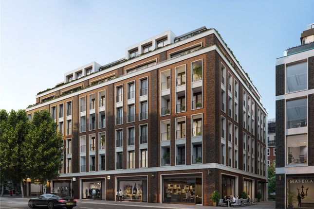 Thumbnail Flat for sale in Lancer Square, Kensington Church Street, London