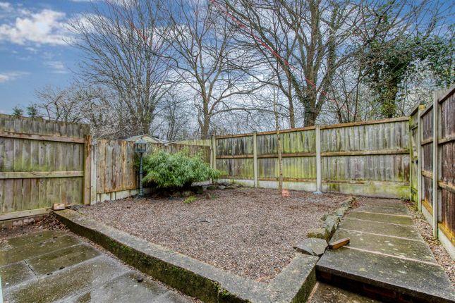Garden of Highley Close, Winyates East, Redditch B98