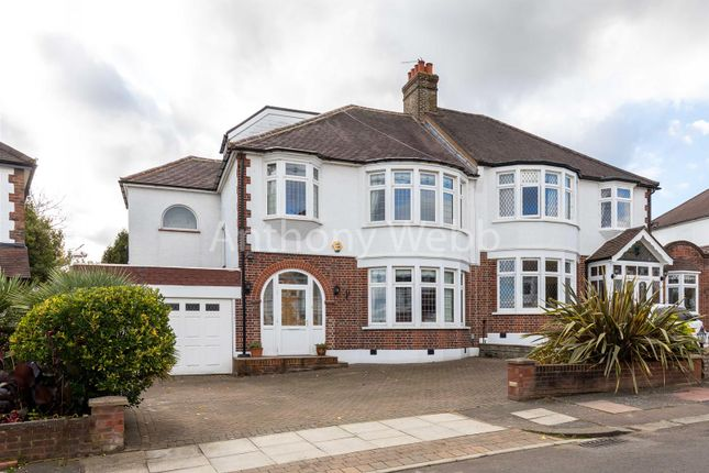 Thumbnail Semi-detached house for sale in Brackendale, London