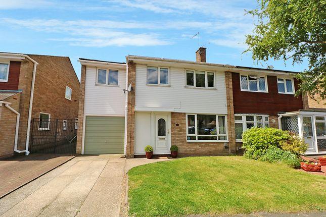 Thumbnail Semi-detached house for sale in Linnet Drive, Tile Kiln, Chelmsford