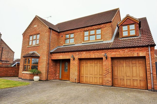 Thumbnail Detached house for sale in The Rookery, Gainsborough