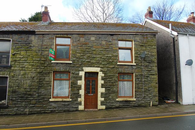 Thumbnail End terrace house for sale in East Road, Tylorstown, Ferndale