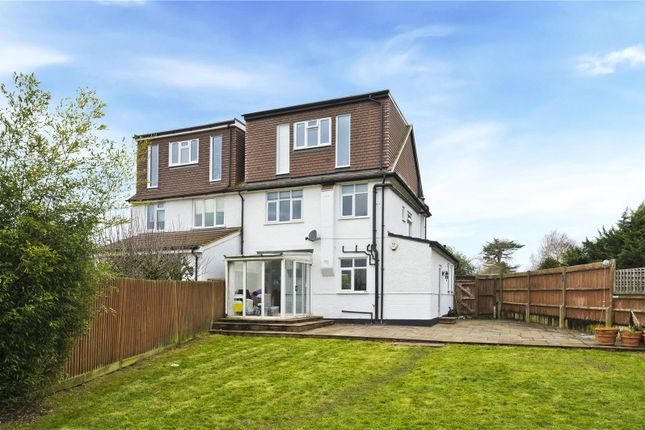 Rear View of Esher Road, East Molesey, Surrey KT8