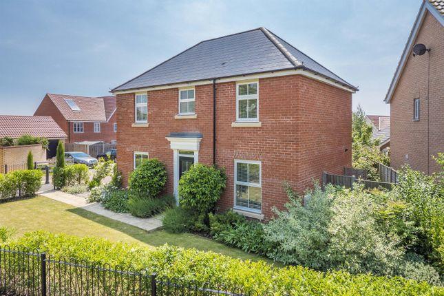 Thumbnail Detached house for sale in Ann Strutt Close, Hadleigh