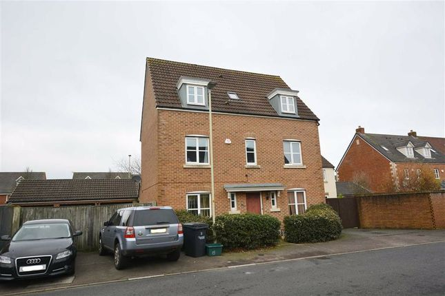 Thumbnail Detached house for sale in Lyneham Drive, Quedgeley, Gloucester
