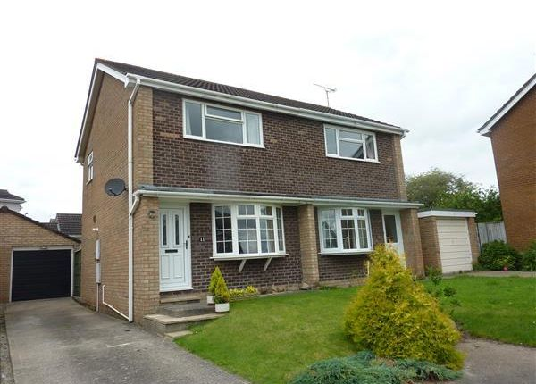 Thumbnail Semi-detached house to rent in Priory Close, The Danes, Chepstow