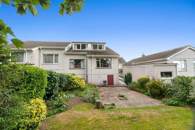 Thumbnail Semi-detached bungalow for sale in Parkesway, Saltash, Cornwall