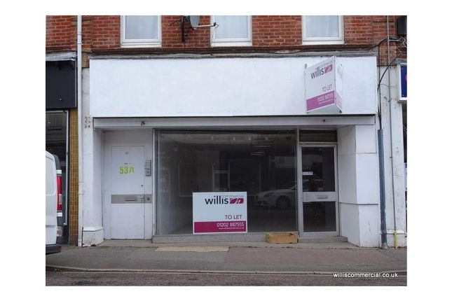 Thumbnail Retail premises to let in 53 Seamoor Road, Westbourne