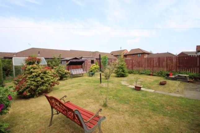 Garden of Broomage Crescent, Larbert, Stirlingshire FK5