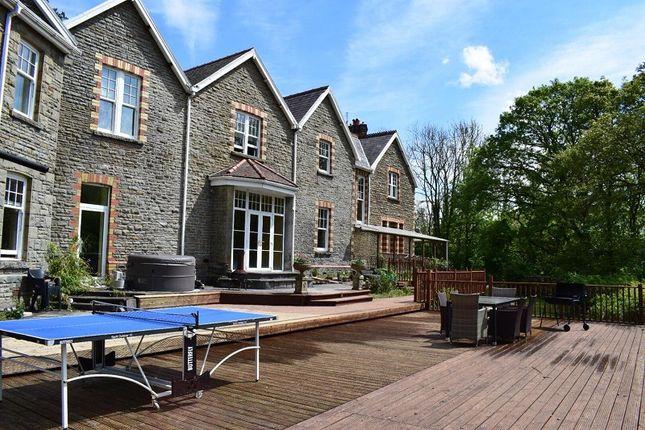 Thumbnail Country house for sale in Gelligron Road, Pontardawe, Swansea