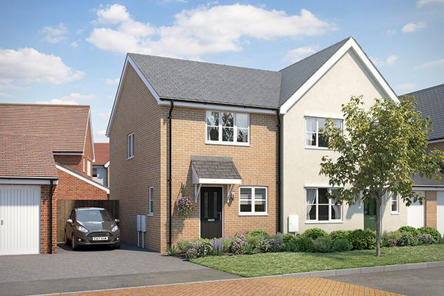 """Thumbnail 2 bedroom property for sale in """"Sandown"""" at Wetherden Road, Elmswell, Bury St. Edmunds"""