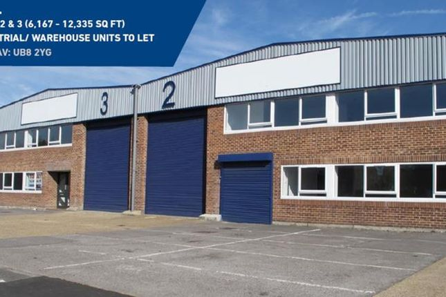 Thumbnail Light industrial to let in Units 2&3, Cowley Mill Trading Estate, Longbridge Way, Cowley, Uxbridge, Middlesex