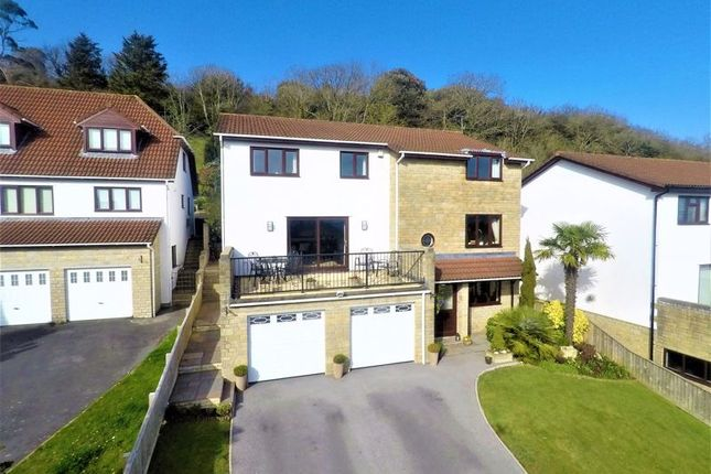 Thumbnail Detached house for sale in Milbury Gardens, Worlebury, Weston-Super-Mare