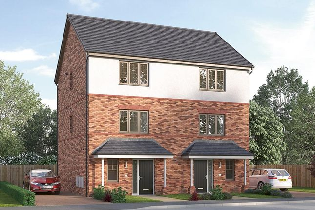 "Thumbnail Semi-detached house for sale in ""The Paignton"" at Ward Road, Clipstone Village, Mansfield"