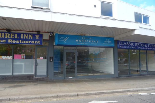 Thumbnail Retail premises to let in Unit 5, Smithfield Centre, Leek