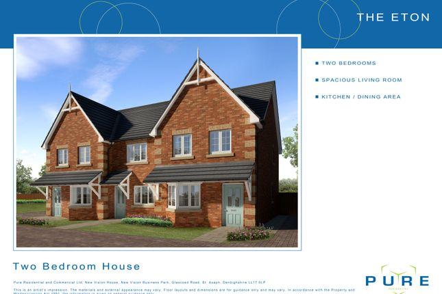 Thumbnail Terraced house for sale in Plot 9 Eton, Cae Topyn, Denbigh