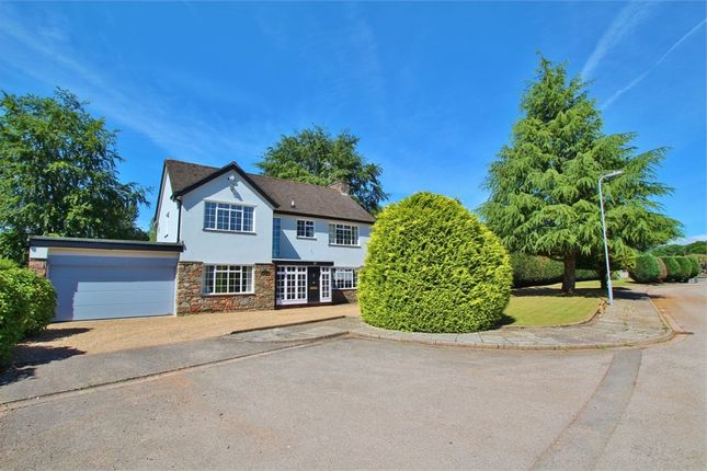 Thumbnail Detached house for sale in Meadow Close, Cyncoed, Cardiff
