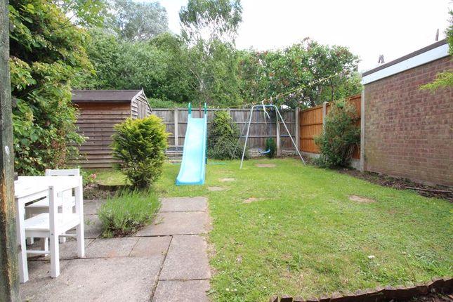 Rear Garden of Quendale, Wombourne, Wolverhampton WV5