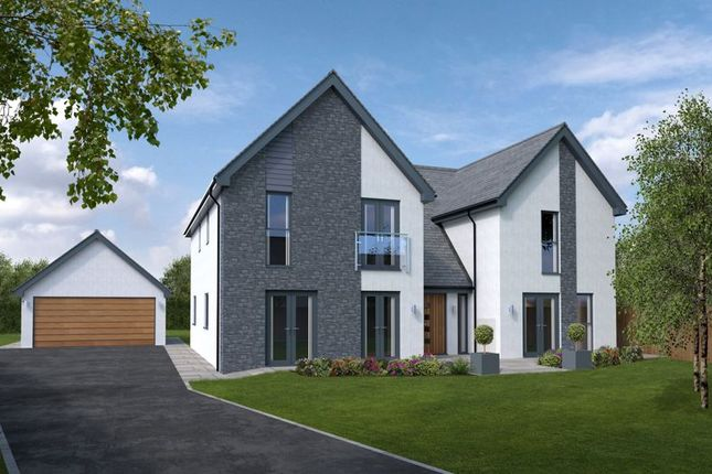 Thumbnail Detached house for sale in Plot 2, Heol Las, Maudlam, Bridgend
