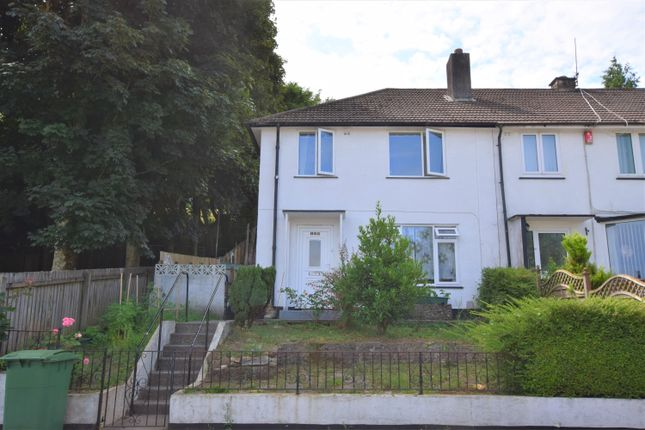 Thumbnail Terraced house for sale in Melrose Avenue, Ham, Plymouth, Devon