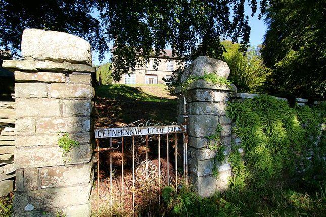 Thumbnail Farmhouse for sale in Cefn Pennar Uchaf Farm, Mountain Ash