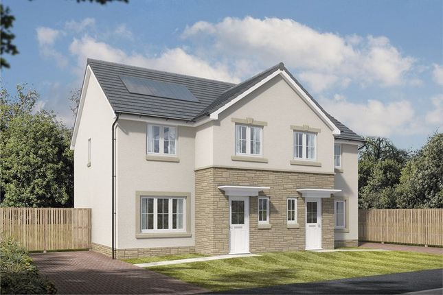 Thumbnail Semi-detached house for sale in Off Boghall Road, Carluke