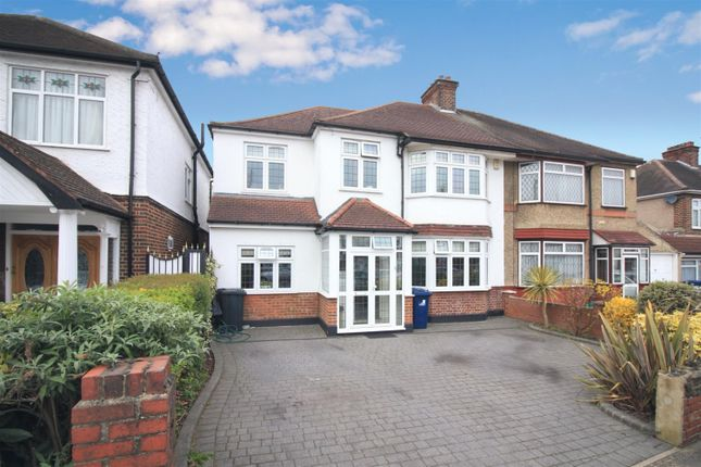 Thumbnail Semi-detached house for sale in Sherborne Avenue, Norwood Green