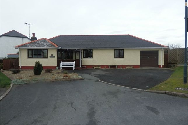 Thumbnail Detached bungalow for sale in Maes Iwan, Ffosyffin, Aberaeron