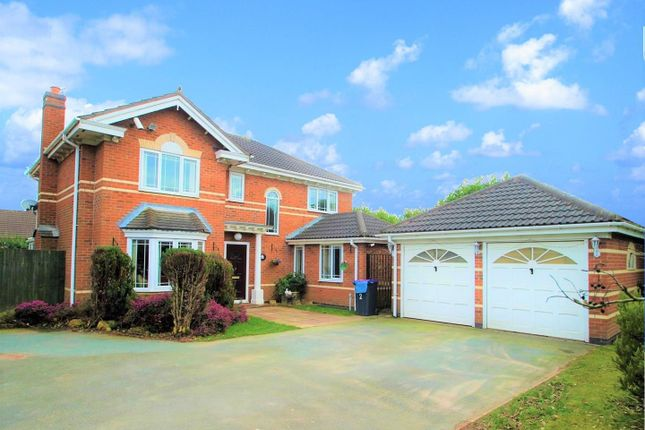 Thumbnail Detached house for sale in Highgrove Meadows, Priorslee, Telford