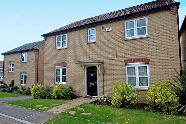 Thumbnail Detached house for sale in Lynemouth Court, Arnold, Nottingham